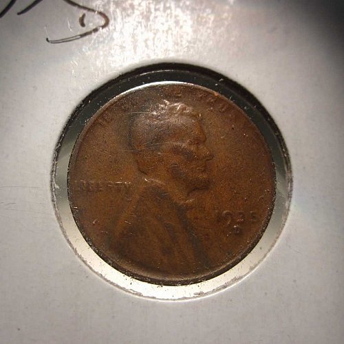 1935 D Lincoln Wheat Cent Small Cents:  Nice Penny