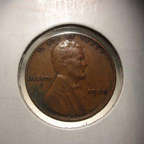 1935 Lincoln Wheat Cent Small Cents:  Nice Penny