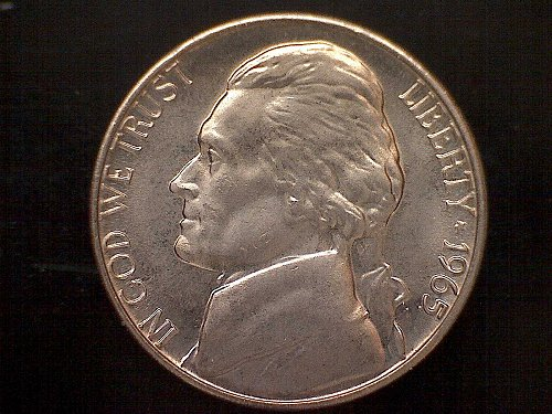 1965 Jefferson Nickel