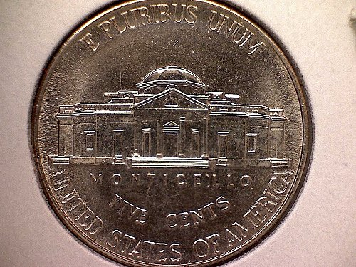2001-P JEFFERSON NICKEL