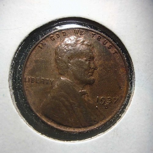 1937 D Lincoln Wheat Cent Small Cents:  Nice Penny