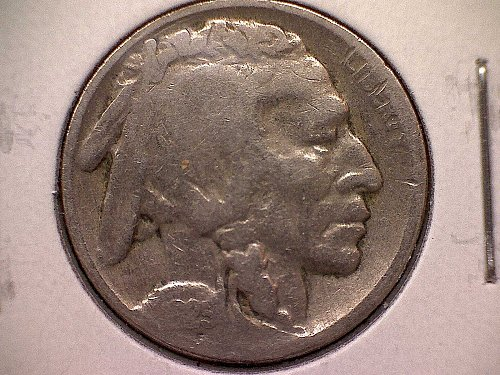 1925 P Buffalo Nickel