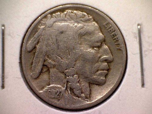 1927 P Buffalo Nickel