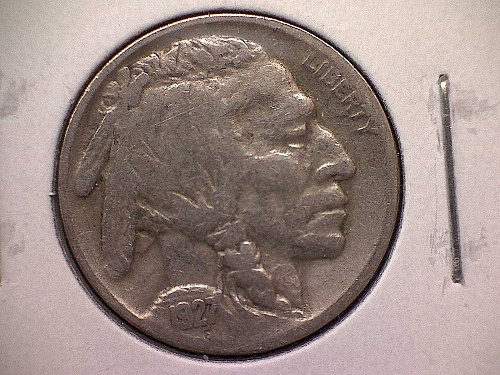 1927 P Buffalo Nickel