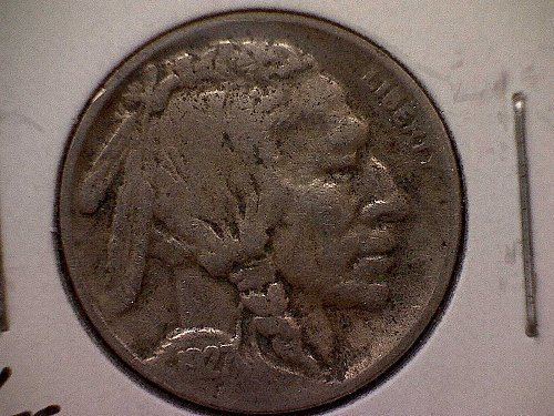 1927 S Buffalo Nickel