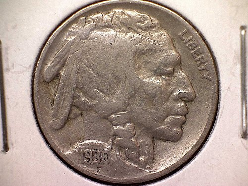 1930 P Buffalo Nickel