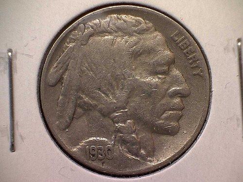 1930 S Buffalo Nickel