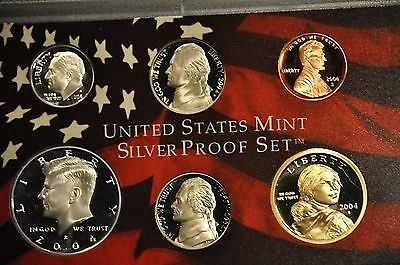 2004 S  PROOF SACAGAWEA GOLDEN DOLLAR