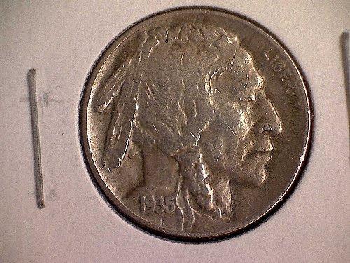 1935 D Buffalo Nickel