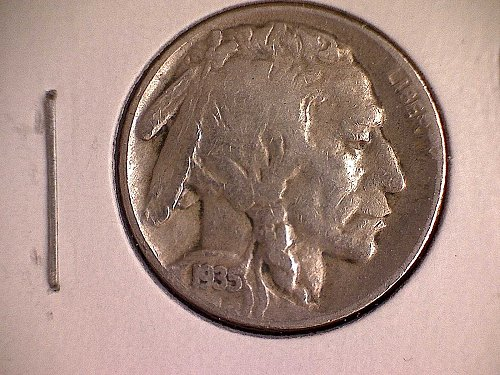 1935 S Buffalo Nickel