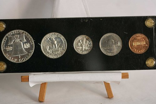 1962  PROOF SET IN PLASTIC HOLDER
