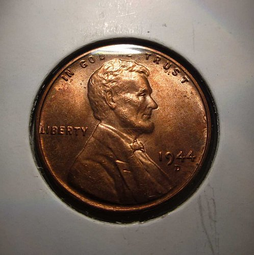 1944 D Lincoln Wheat Cent Small Cents:  Nice Penny