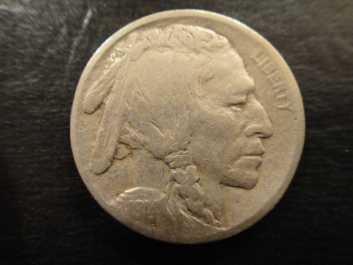 1914-D (KEY DATE) Buffalo Nickel Very Fine-20