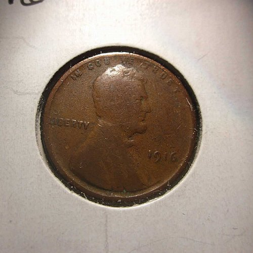 1916 Lincoln Wheat Cent Small Cents:  Nice Penny