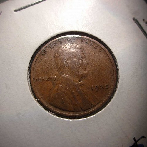 1925 Lincoln Wheat Cent Small Cents:  Nice Penny