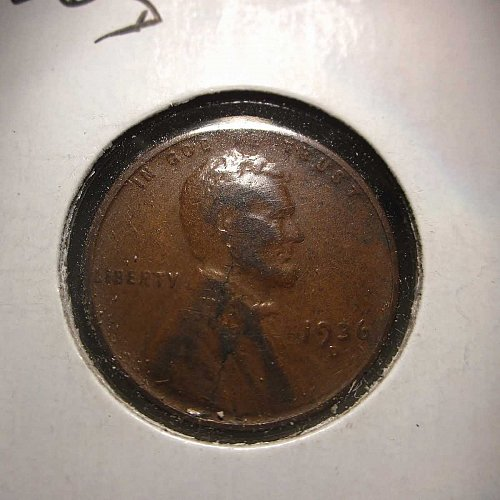 1936 D Lincoln Wheat Cent Small Cents:  Nice Penny