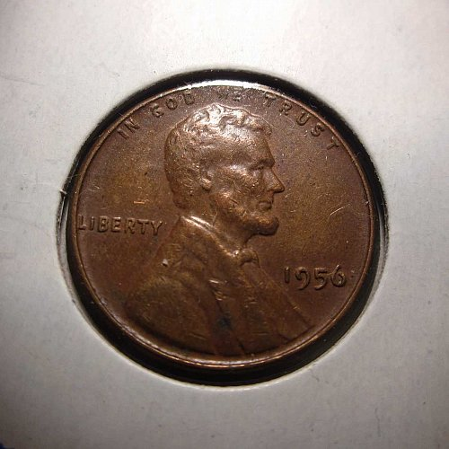 1956 Lincoln Wheat Cent Small Cents:  Nice Penny