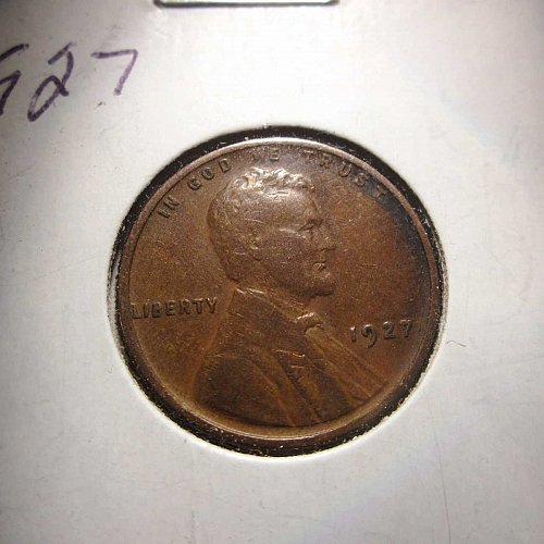 1927 Lincoln Wheat Cent Small Cents:  Nice Penny