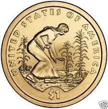 2009 S  PROOF SACAGAWEA  GOLDEN DOLLAR
