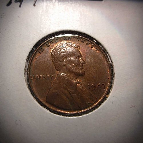1947 Lincoln Wheat Cent Small Cents: Nice Penny