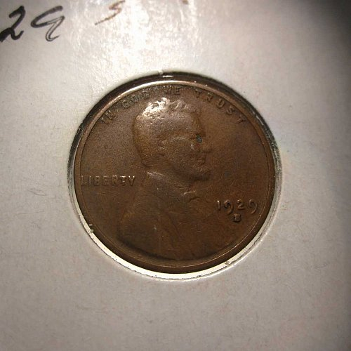 1929 S Lincoln Wheat Cent Small Cents: Nice Penny