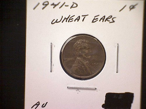 1941D Lincoln Wheat Penny