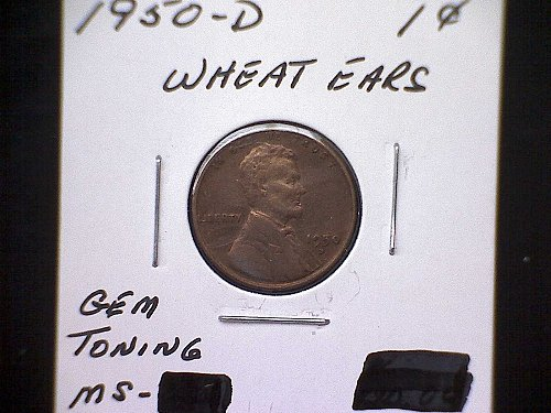 1950-D Lincoln Wheat Penny
