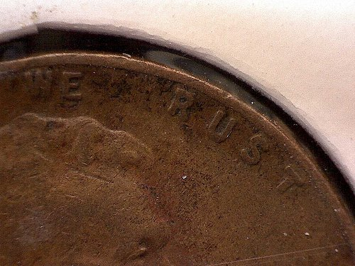 "1940 P LINCOLN WHEAT EAR  ""ERROR"""