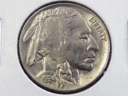1934 Buffalo Nickel ~ MS 63