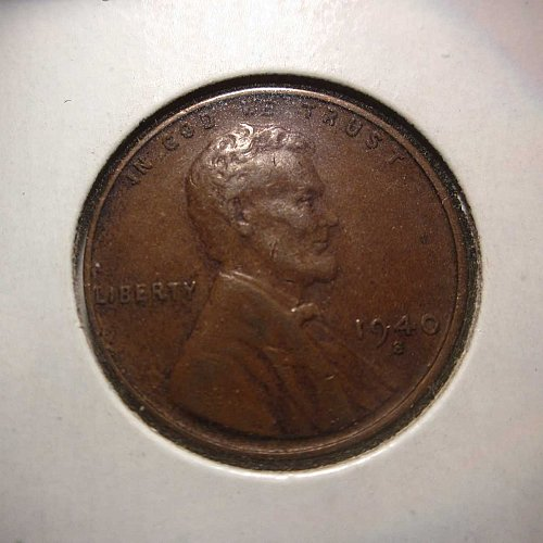 1940 S Lincoln Wheat Cent Small Cents: Nice Penny