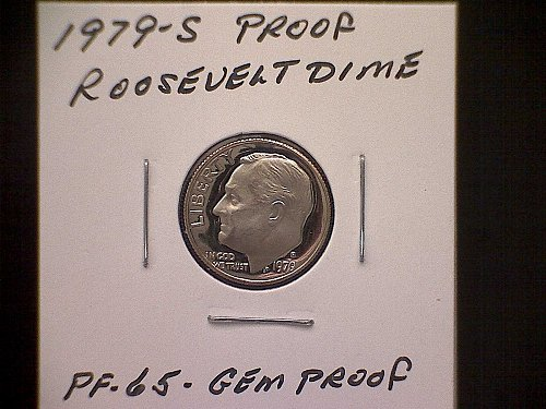 1979-S ROOSEVELT DIME  TYPE 1 - FILLED S