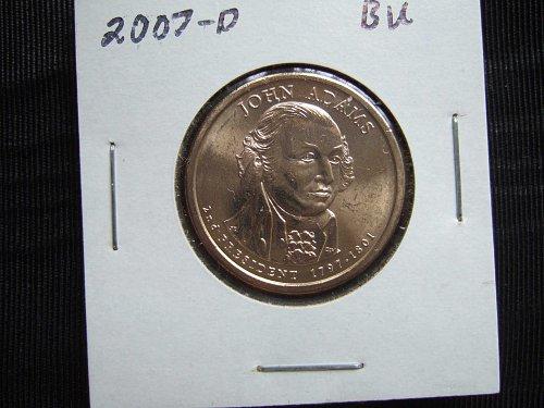 2007 D Presidential Dollar