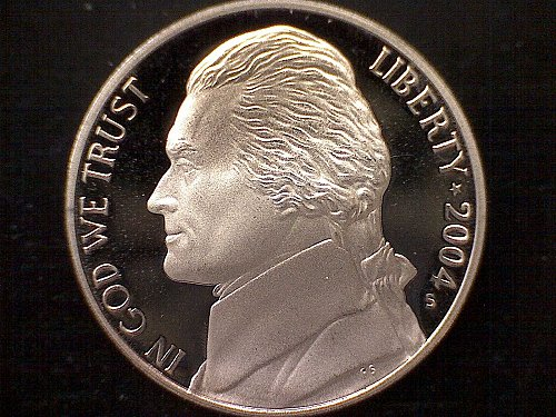 2004-S JEFFERSON NICKEL
