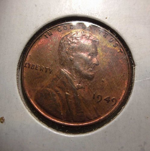 1949 Lincoln Wheat Cent Small Cents: Nice Penny