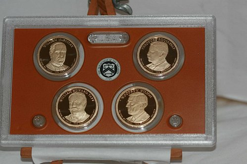 2013 S  Proof  Presidential Dollar ( NO BOX OR COA)