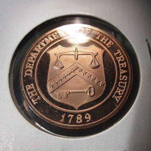 1982 Proof Mint Treasury Token