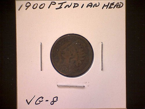 1900-P INDIAN HEAD PENNY