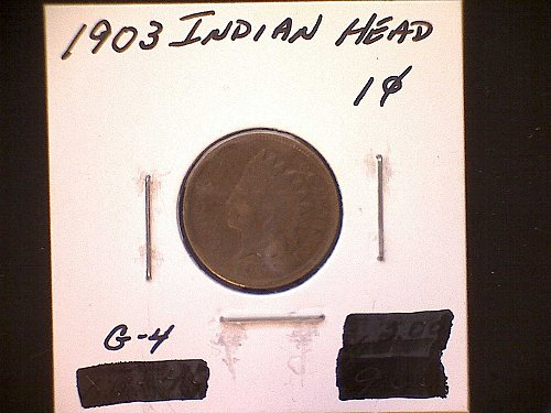 1903-P INDIAN HEAD PENNY