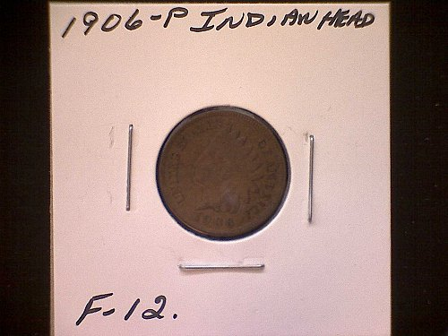 1906-P INDIAN HEAD PENNY
