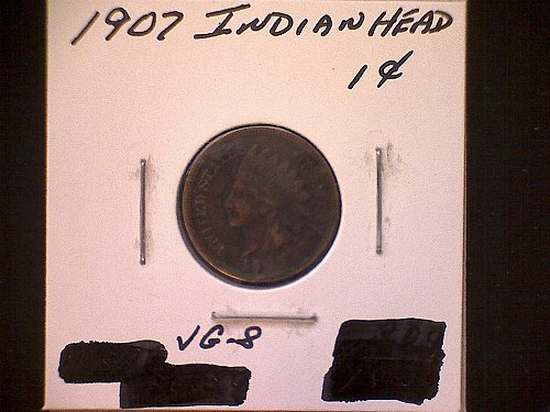1907-P INDIAN HEAD PENNY
