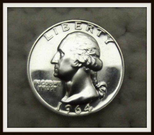 1964 - P Washington Silver Quarter (Proof)
