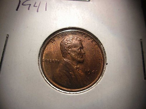 1941 Lincoln Wheat Cent Small Cents: Nice Penny
