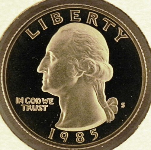 1985 S Washington Quarter PROOF