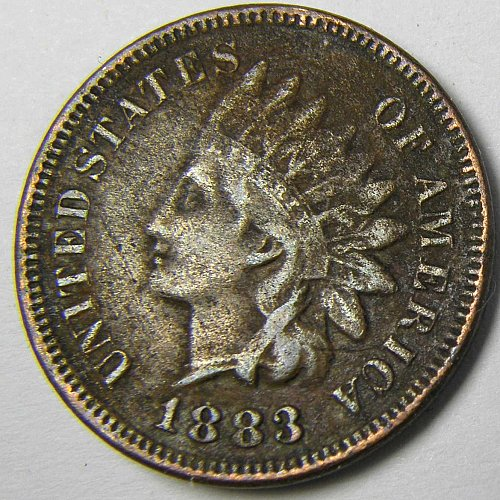 1883 P Indian Head Cent #1