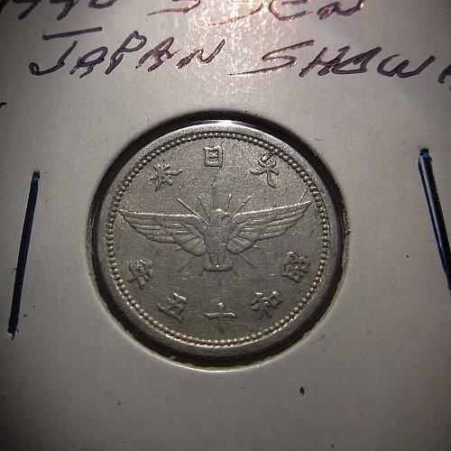 1940 5 Sen Japan Showa     WM-0092