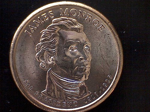 2008-D JAMES MONROE PRESIDENTIAL DOLLAR