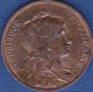France 5 Centimes 1913