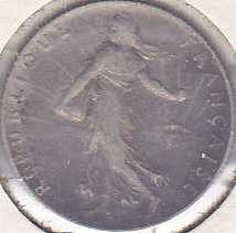 France 50 Centimes 1917