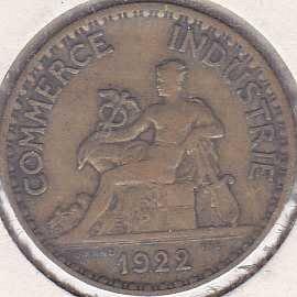 France 1 Franc 1922