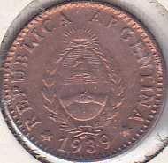 Argentina 1 Centavo 1939